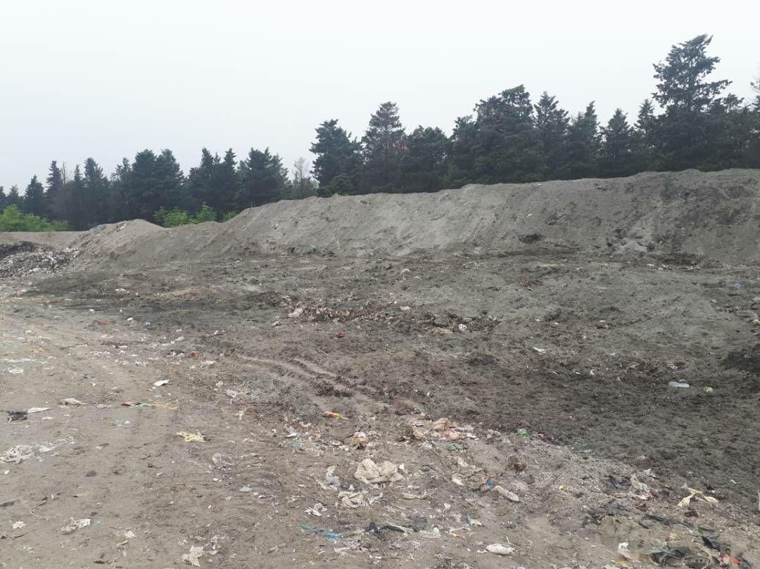 ساماندهی محل دفن زباله در شهرچوبر