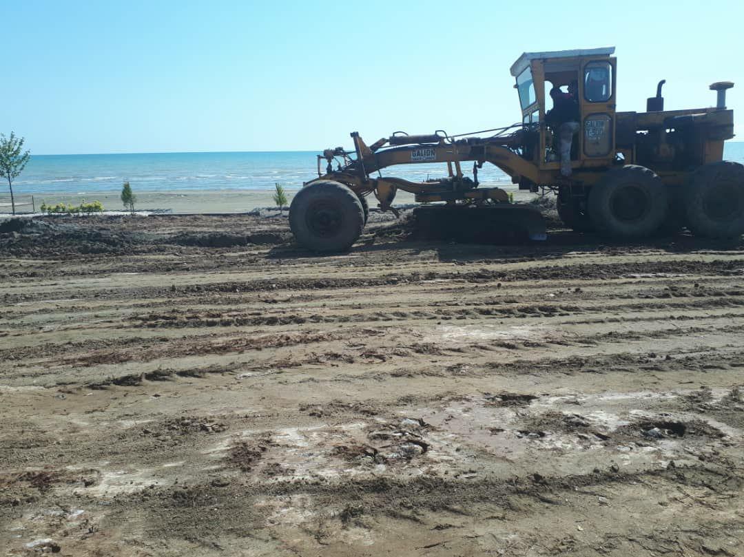 عملیات طرح ساحلی شهرچوبر