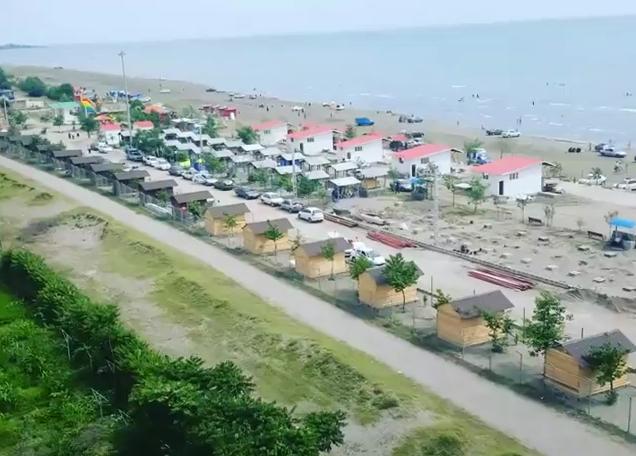 ویدئو: نمایی فوق العاده از طرح زیبای ساحلی شهر چوبر